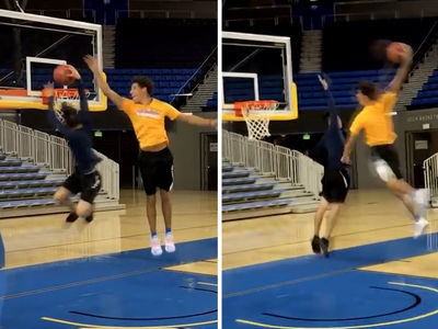 Lonzo Ball OBLITERATES UCLA Engineer Student In Dunk-Off (VIDEO)