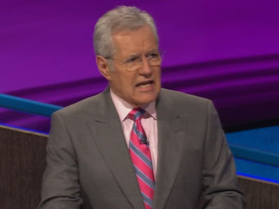 Alex Trebek Drops Bars On 'Jeopardy!' (VIDEO)