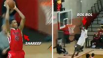 Shareef O'Neal and Bol Bol Trade High-Flyin' Highlights In H.S. Basketball Matchup (VIDEO)