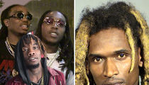 Migos Skates, Sean Kingston's Friend Booked (MUG SHOT)
