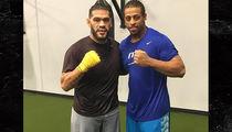 Greg Hardy MMA Training with 'Bigfoot' Silva (PHOTO + VIDEO)