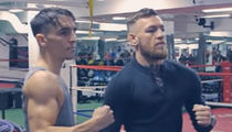 Conor McGregor Teams Up with Irish Boxing Star ... 'Floyd Fight Will Happen' (VIDEO)