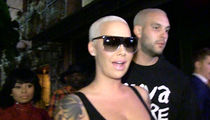 Amber Rose Says She's Not Banging Kevin Durant (VIDEO+ PHOTOS)