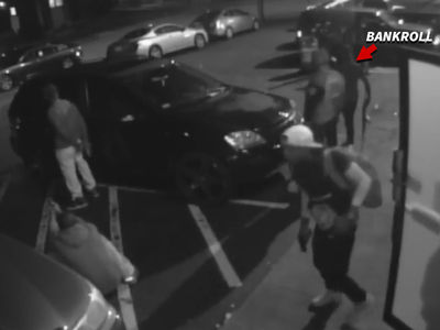 Surveillance Video Shows Moments Before Bankroll Fresh Shooting (VIDEO)