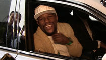 Floyd Mayweather: Hey, Conor McGregor ... I'm In L.A. Now, Too! (VIDEO)