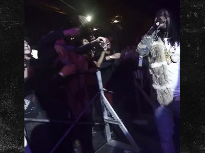 Chief Keef Nearly Cracks Skull in Stage Fall, Court Trouble Lurking? (VIDEOS)
