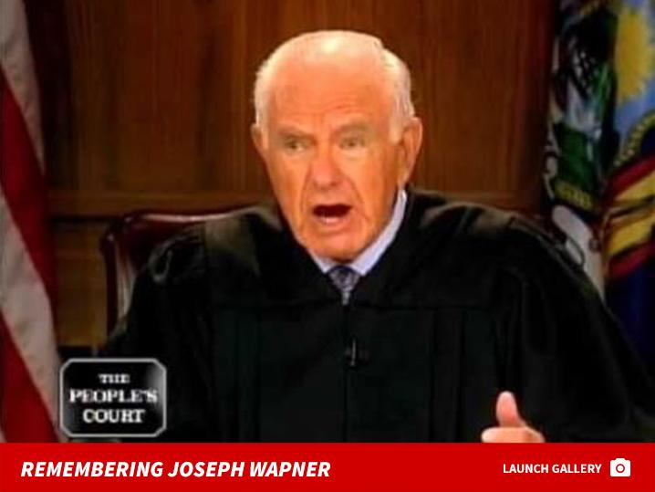Peoples court judge joseph wapner dead at 97 tmz peoples court judge joseph wapner dead at 97 ccuart Images