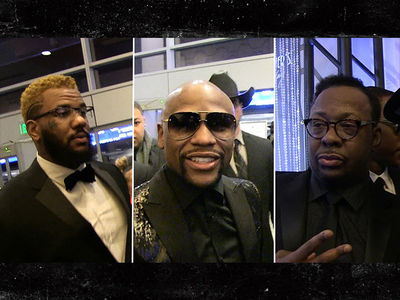 Floyd Mayweather's 40th Birthday Bash Featuring Mariah, Bieber (PHOTOS/VIDEO)