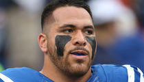 NFL's David Parry Cussed Out Cops During Arrest ... 'F**gots, P**sies, Fat F**ks'
