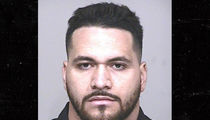 Indianapolis Colts Player Arrested ... Allegedly Jacked Golf Cart Taxi, Crashed (MUG SHOT)