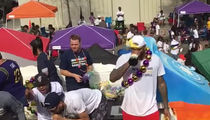 DeMarcus Cousins' First Mardi Gras In NOLA ... PANTIES AND HENNY!! (VIDEO)