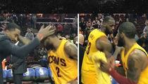 Cleveland Cavs' Handshake Game Still On Point (VIDEO)