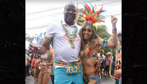 Conrad Murray Enjoys Trinidad Carnival Festivities with GF Nicole Alvarez (PHOTO)