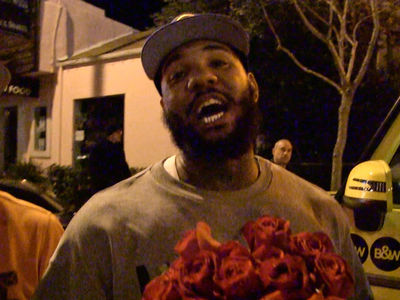 The Game Leaves Roses for Nicki Minaj (VIDEO)
