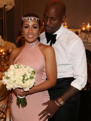 Tyrese Wedding Photos -- Mazel Tov!