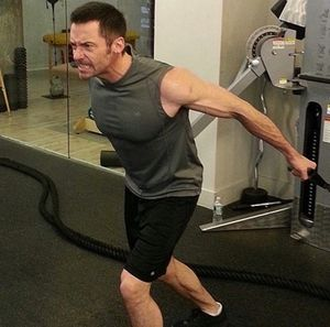 Hugh Jackman's Shredded Shots