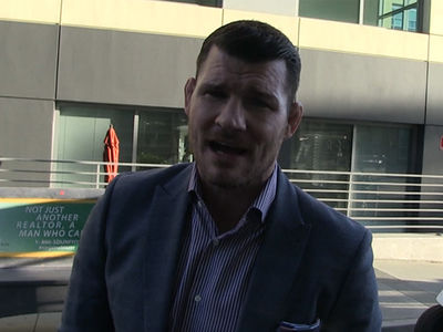 Michael Bisping Says GSP's 'Out of His F'ing Mind' ... I'll Smash Him (VIDEO)