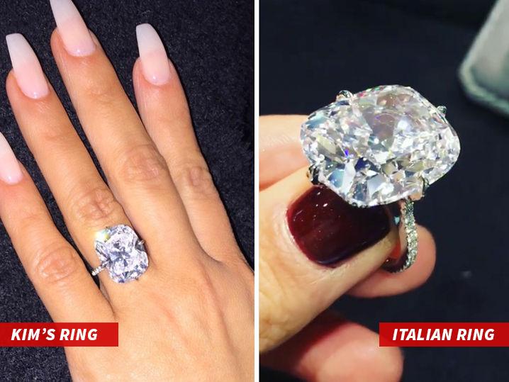 Kim Kardashian Wests Stolen Ring Not So Unique TMZcom