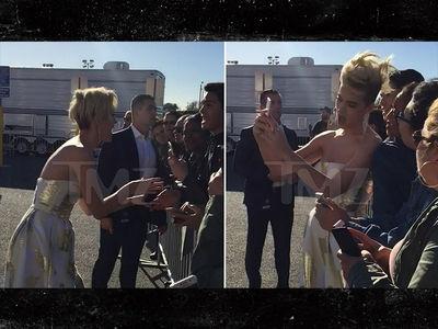 Katy Perry Roars Like Crazed Fan ... at Crazed Fan (VIDEO)
