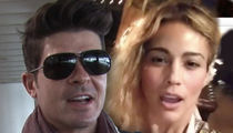 Robin Thicke, Paula Patton Call Truce in Custody War