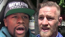 Floyd Mayweather Says He'll Un-Retire for Conor McGregor If They Can Strike a Deal (VIDEO)