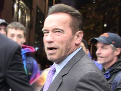Arnold Schwarzenegger Says U.S. Senate Run a No-Go
