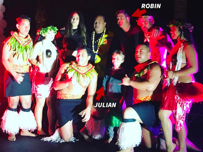 Robin Thicke's 40th Birthday Bash Totally Kid-Friendly (PHOTO + VIDEO)