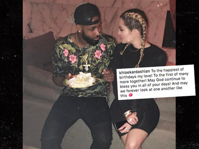 Khloe Kardashian Gets Mushy On Tristan Thompson (PHOTO)