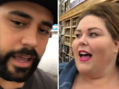 Chrissy Metz Surprises Die-Hard 'This Is Us' Fans (VIDEO)