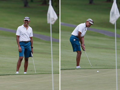 Barack Obama, All the Right Moves (PHOTOS)