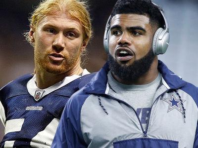 Ezekiel Elliott's Not a Completely Terrible Person ... Says Ex-Cowboys Linebacker
