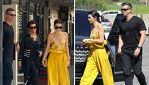 Kendall Jenner Working Hard Before Theft (PHOTOS)