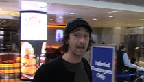 Adrien Brody Says Trump Targeting the Arts is a Shame (VIDEO)