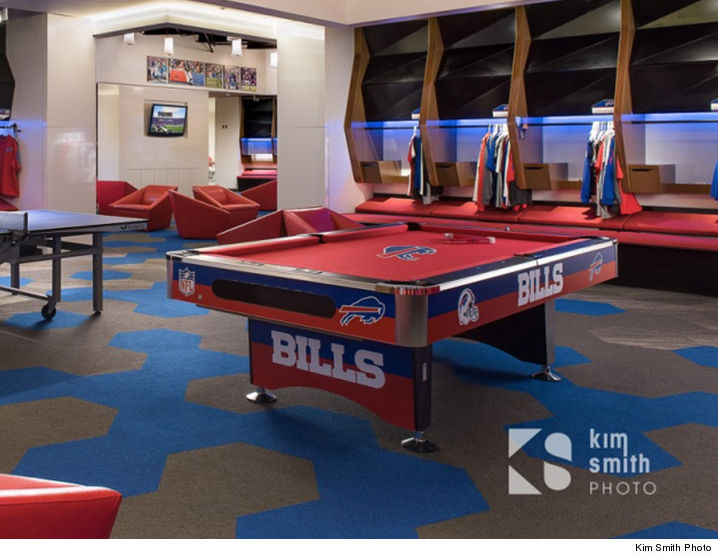 Charming Big Win For The Buffalo Bills    The Team Pool Table (which Was Recently  Banned From The Bills Locker Room) Just Sold At Auction For $8,000 .