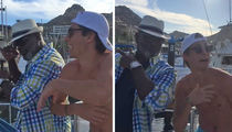 Emmitt Smith Continues His Turn Up Tour In Cabo (VIDEO)
