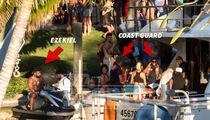 Ezekiel Elliott, Yacht Party Searched by Coast Guard (PHOTOS + VIDEO)
