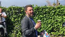 Ben Affleck Asks Paparazzi to Help Him Dodge L.A. Marathon (VIDEO)