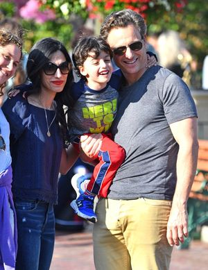 Huma Abedin and Tony Goldwyn Do Disneyland Together
