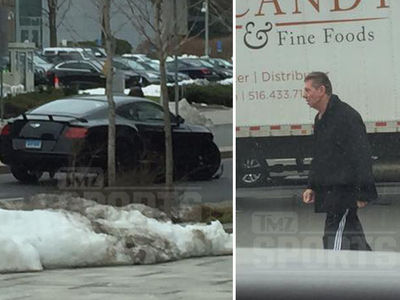Vince McMahon In Bentley Crash Near WWE Headquarters (UPDATE: PHOTOS + AUDIO)