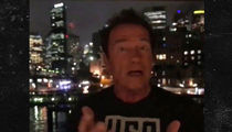 Arnold Schwarzenegger to Trump, Your Ratings are in the Toilet (VIDEO)