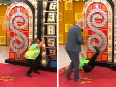 'The Price is Right' Contestant Falls on Her Ass After Wheel Spin