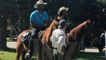 Bachelorette Rachel Lindsay's Bev Hills Horse Date ... Urban Cowboys! (PHOTOS)