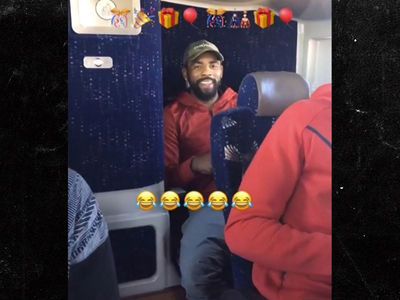 LeBron James Serenades Kyrie Irving With Birthday Song (VIDEO)