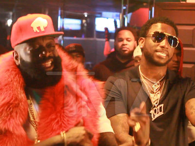 Rick Ross Hits Strip Club Hours Before Court (VIDEO)