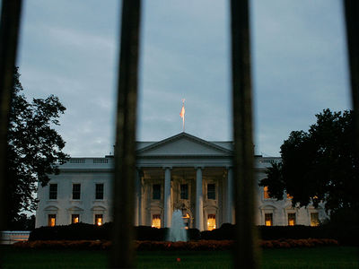 Shoelace White House Fence Jumper Strikes Again at Treasury Building