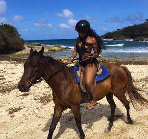 Porsha Williams' Hot Vacation Photos