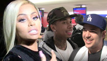 Blac Chyna's at War with Tyga AND Rob Over Tag Teaming