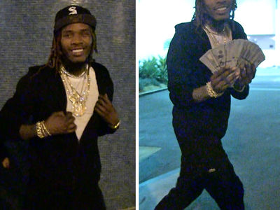 Fetty Wap Shows No Fear ... Blinged Out After Jewelry Robbery (VIDEO)