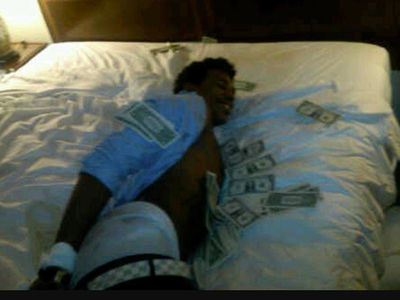 Nick Young's NBA Hazing Photo Surfaces ... Hog-Tied In Hotel Bed (PHOTO)