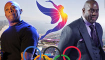 Dr. Dre, Magic Johnson Join Hollywood Power Group ... to Bring Olympics To L.A. (PHOTOS)